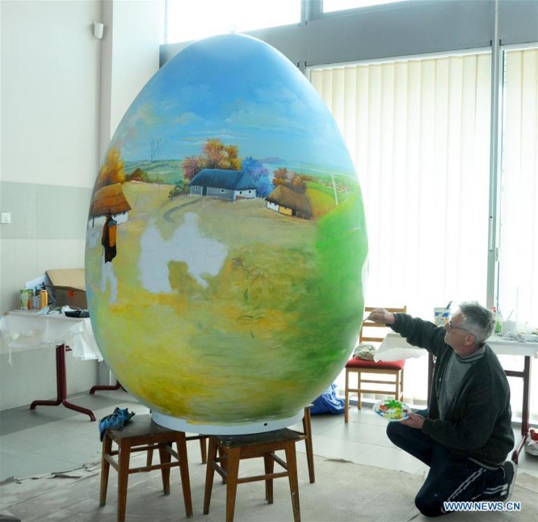Fairy Tales On Eggs Croatian Painters Draw Easter Eggs 3 5