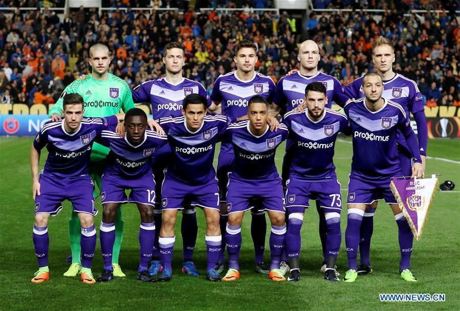 Kết quả hình ảnh cho anderlecht europa league