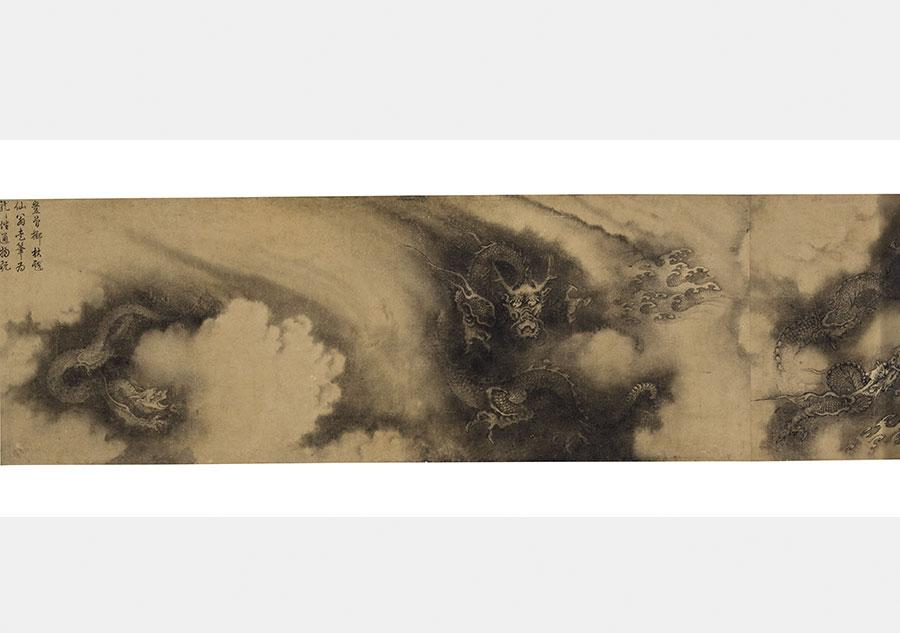 Chinese painting 'Six Dragons' fetches high price at New