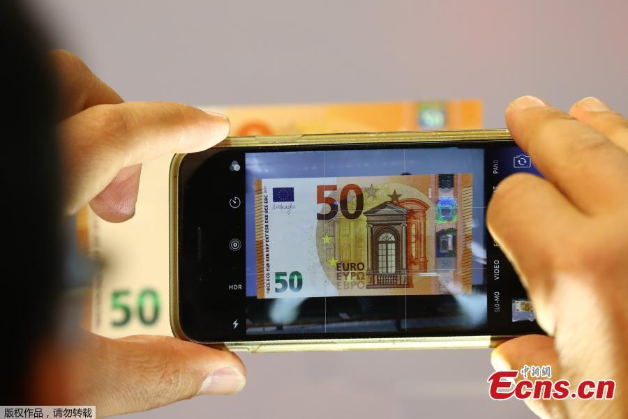 new 50 euro banknote goes into circulation 5 5. Black Bedroom Furniture Sets. Home Design Ideas