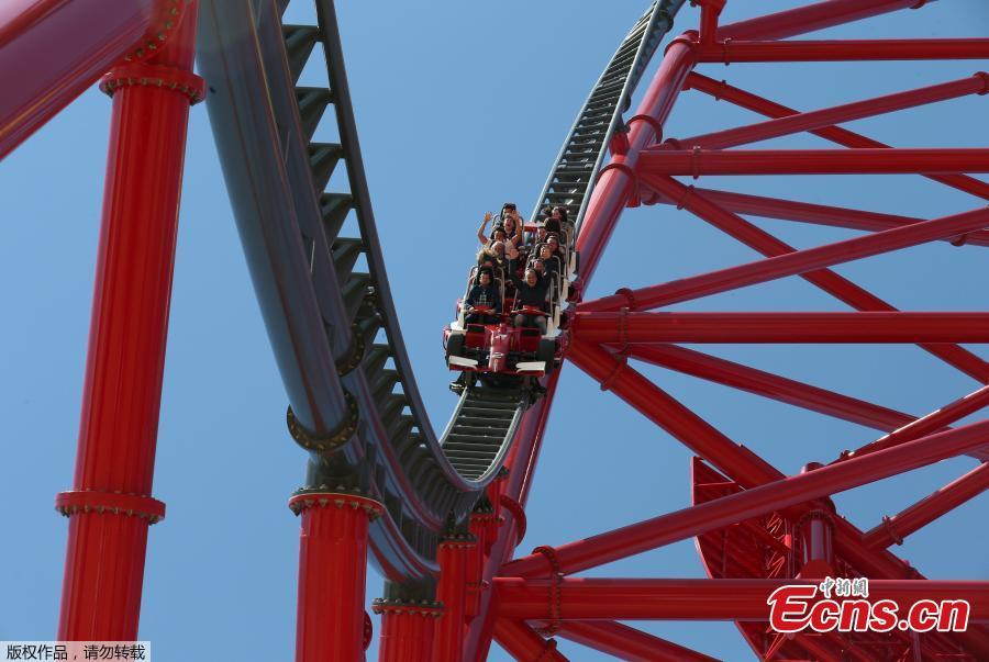 rev up for europe 39 s fastest rollercoaster as ferrari land opens in spain. Cars Review. Best American Auto & Cars Review