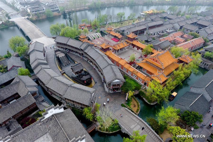 aerial photos of old city of tai erzhuang in shandong 4 12