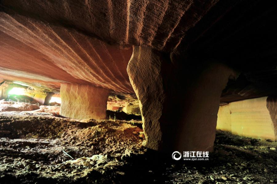 Large Sandstone Cave Discovered In Zhejiang 1 11