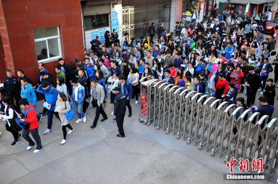 Ancient China Civil Service : Provinces kick off civil service exams