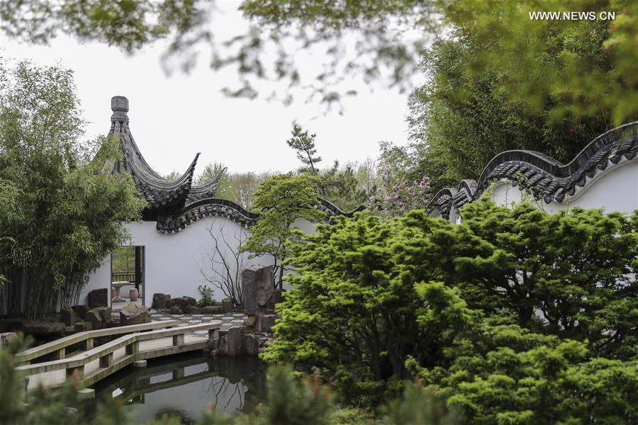 Scenery of chinese scholar 39 s garden at snug harbor on staten island in new york 1 15 for New york chinese scholar s garden
