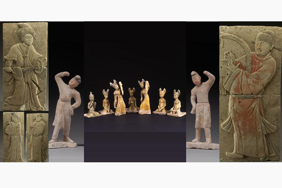 Featuring music and dance: cultural relics from Shaanxi on