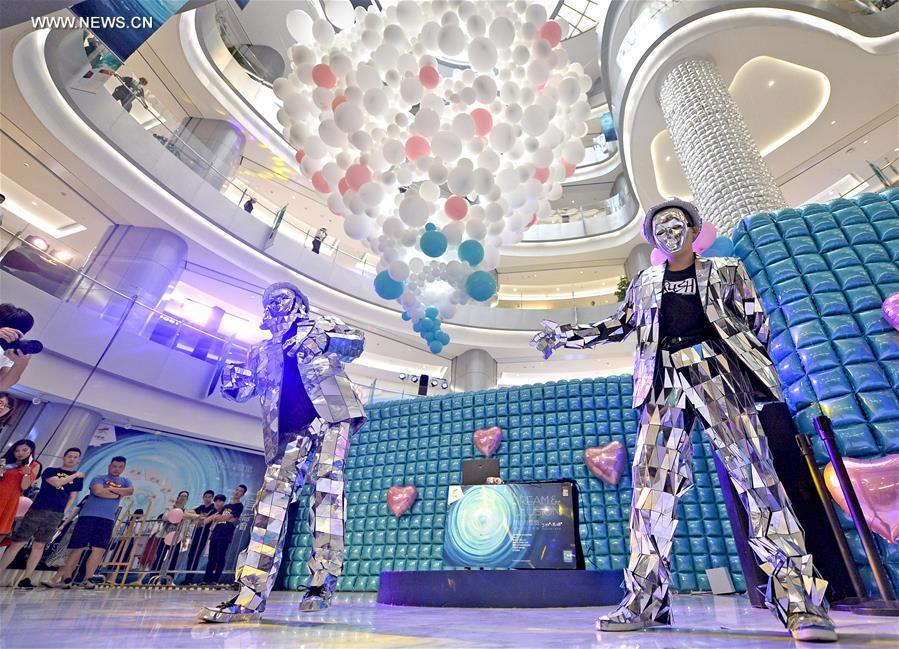 D Exhibition China : Balloon art exhibition opens in china s tianjin
