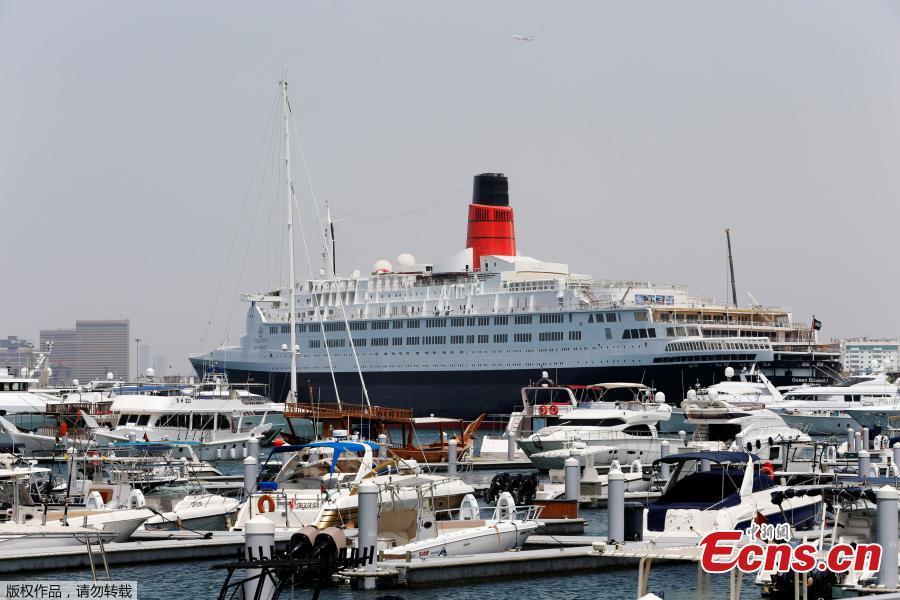 Famed Queen Elizabeth 2 Ship Now A Floating Hotel In Dubai 2 8