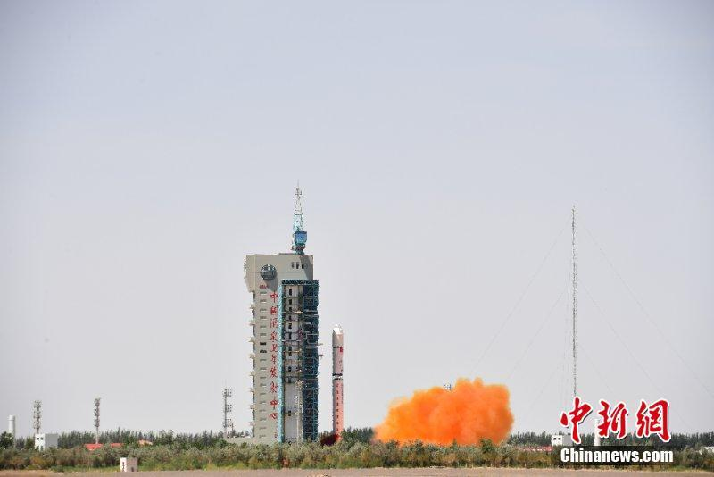 China launched a new Earth observation satellite, Gaofen-6, which will be mainly used in agricultural resources research and disaster monitoring, June 2, 2018. (Photo/China News Service)