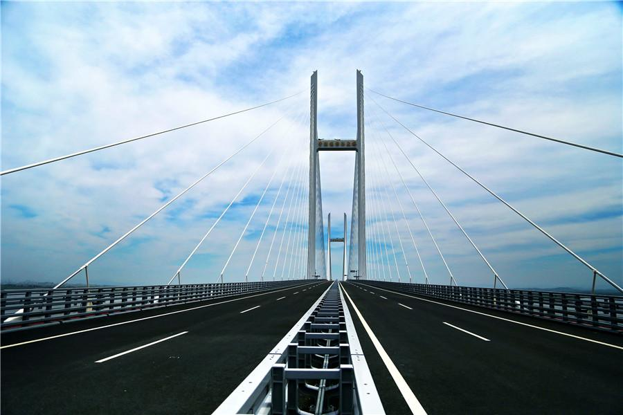 The New China-DPRK Friendship Bridge. (WEN SHAN/FOR CHINA DAILY)