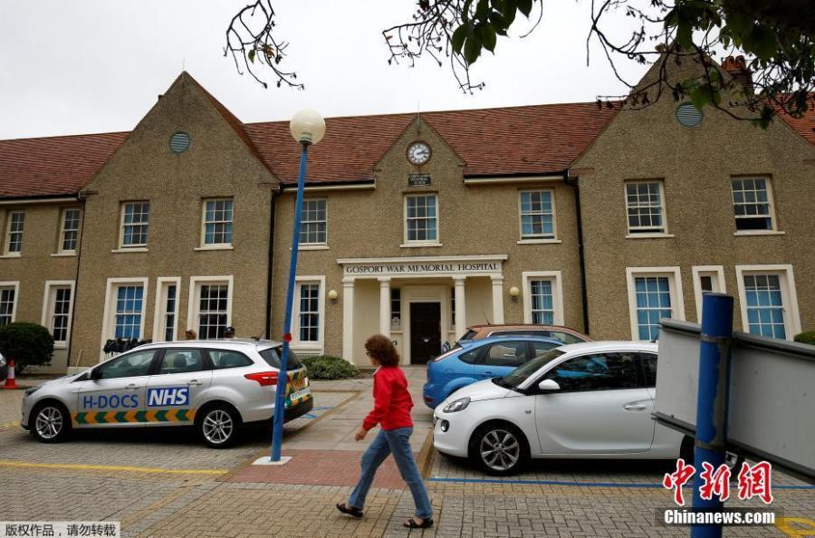 "A woman walks in front of Gosport War Memorial Hospital in Gosport, Britain, June 20, 2018. More than 450 patients died prematurely in a British hospital after they were given powerful painkillers with no medical justification, in what a damning report on Wednesday found was a ""disregard for human life"". (Photo/Agencies)"