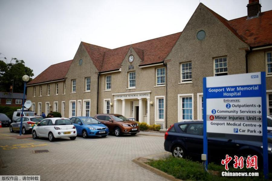 "The exterior of Gosport War Memorial Hospital can be seen here in Gosport, Britain, June 20, 2018. More than 450 patients died prematurely in a British hospital after they were given powerful painkillers with no medical justification, in what a damning report on Wednesday found was a ""disregard for human life"". (Photo/Agencies)"