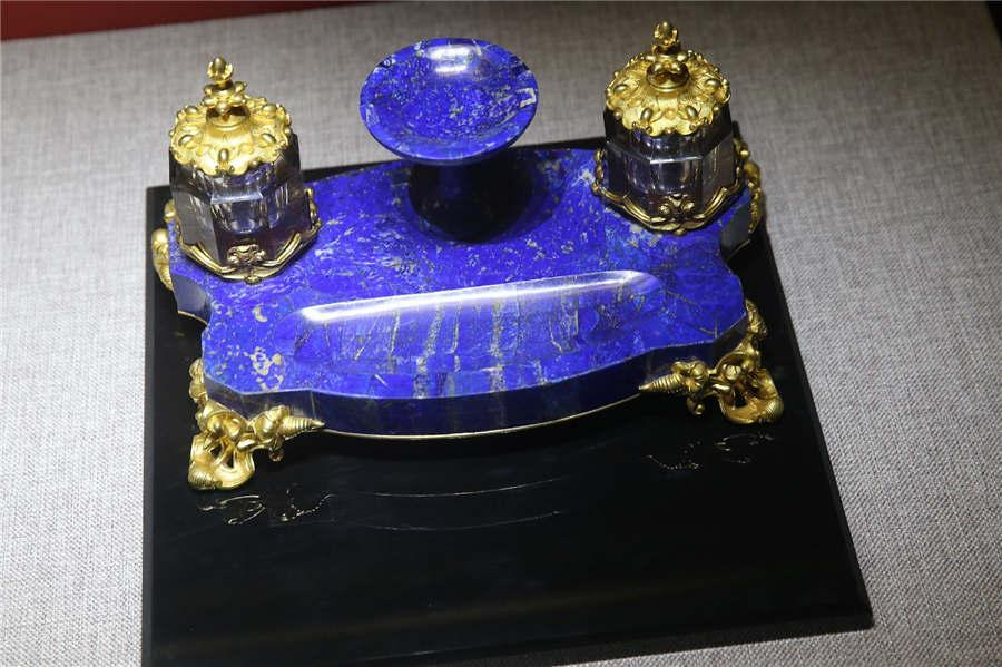 An inkstand (Photo/China Daily)