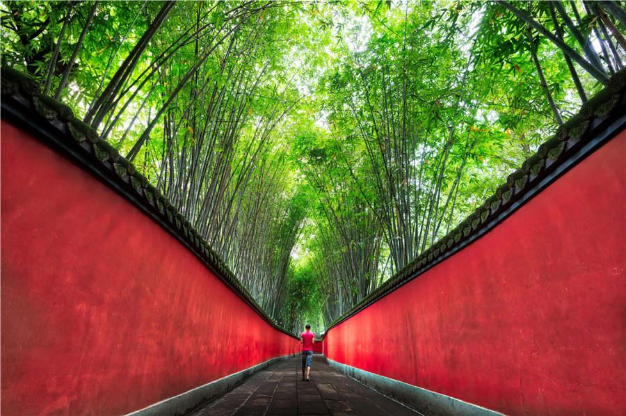 A photo of the Chengdu city by US photographer Trey Ratcliff.(Photo provided to chinadaily.com.cn)