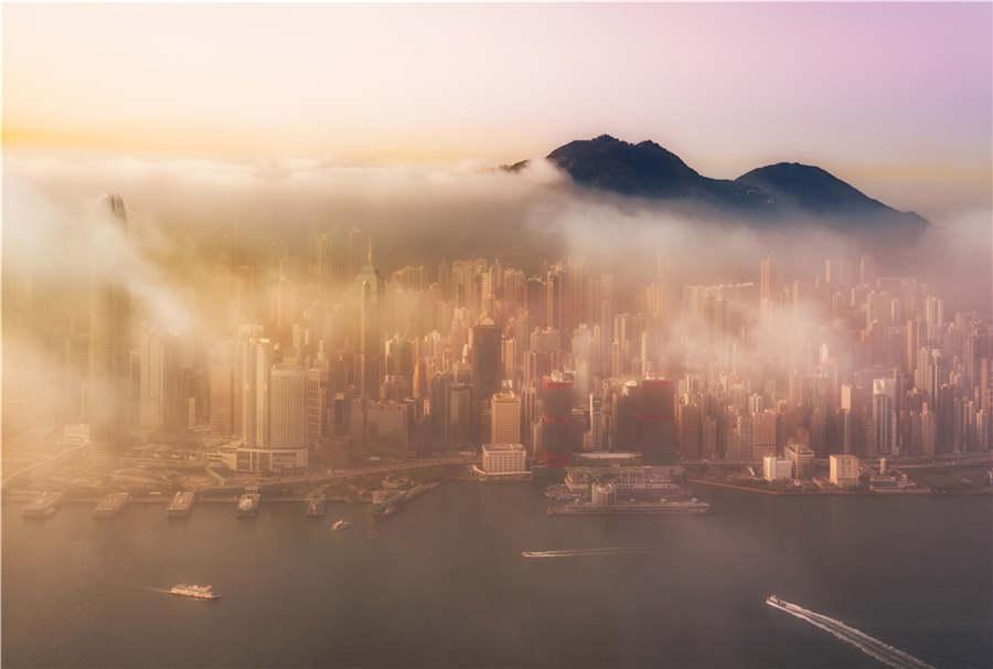 A photo of Hong Kong by photographer Trey Ratcliff. (Photo provided to chinadaily.com.cn)