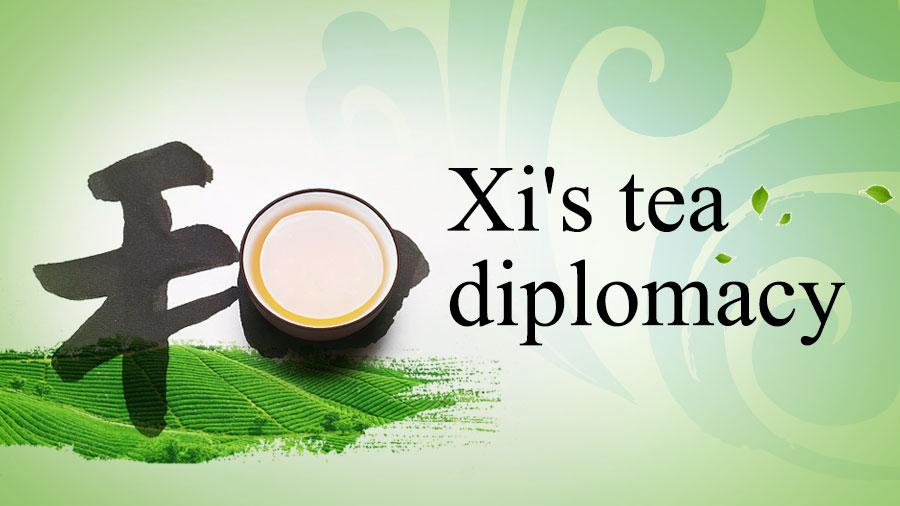 Tea is a symbol of Chinese culture and hospitality. It has been used by President Xi Jinping on many diplomatic occasions. As proven by the ancient Silk Road and the current Belt and Road Initiative, tea is a commodity beloved by people of different countries. In China, people can now find British black tea, Indian milk tea and Japanese matcha, besides traditional Chinese tea. Just as China is open to different varieties of tea and the cultures behind them, the country is also a staunch advocate for diplomacy involving harmony in diversity. Let\'s take a look at China\'s tea diplomacy.
