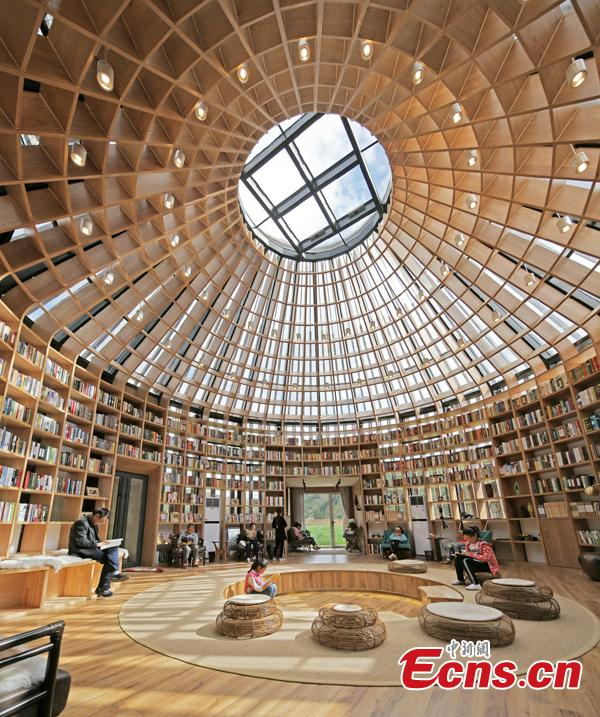 library designed by daniel wu nominated for architecture 'oscars