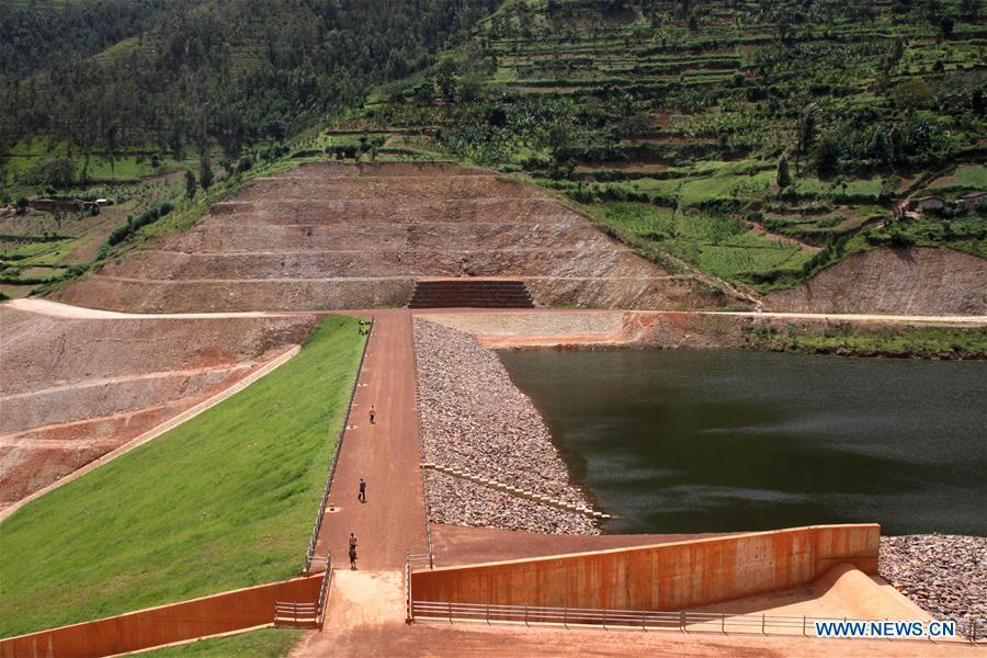 Photo taken on Feb 16, 2018 shows a view of Muyanza Dam built by China Geo-Engineering Corporation in Rulindo District, northern province of Rwanda. In the past five years, China and African nations have deepened political mutual trust, mutual assistance in development and mutual learning in visions, and made concerted efforts in building the Belt and Road and a closer China-Africa community with a shared future. (Photo/Xinhua)