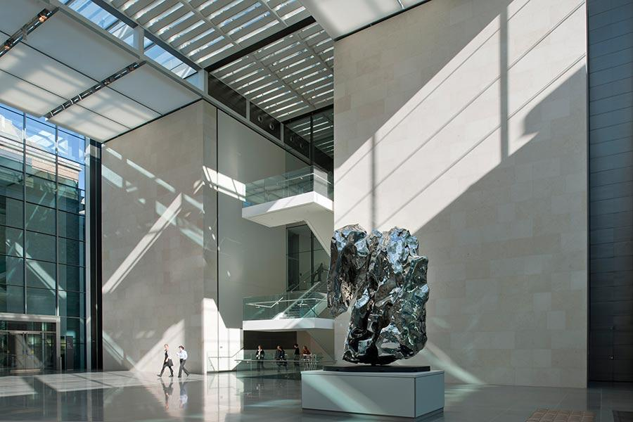 The Museum of Fine Arts, Boston (Photo/Courtesy of Nigel Young, Foster + Partners)