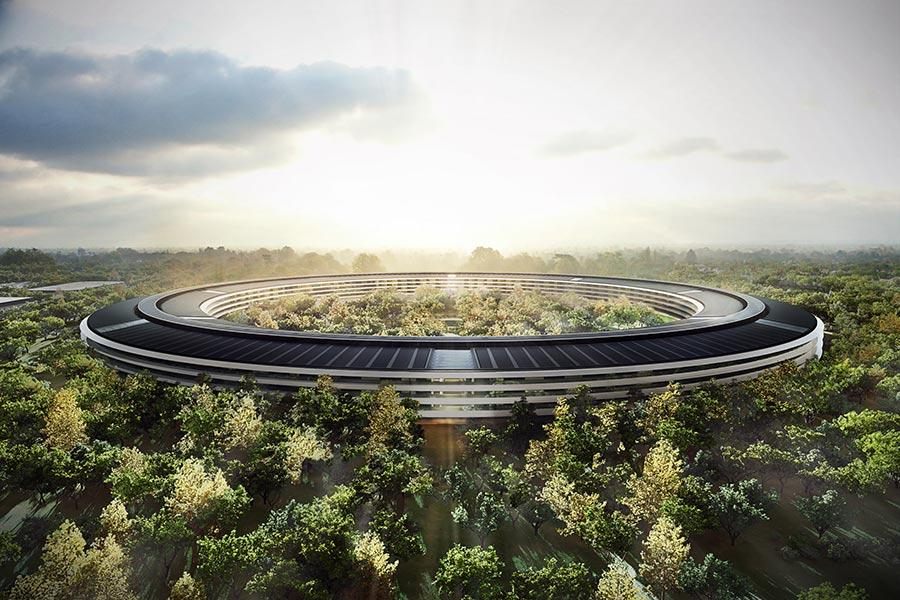 Apple Park (Photo/Courtesy of Foster + Partners)  Norman Foster, the British architect and winner of Pritzker Architecture Award, describes sustainable design as an approach \