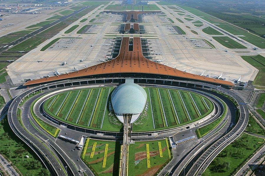 Terminal 3 of Beijing Capital International Airport (Photo/Courtesy of Ma Wenxiao, Sino)