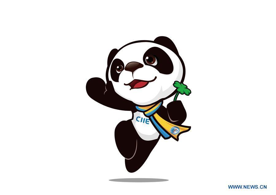 This image shows Jinbao, the mascot of the China International Import Expo (CIIE). China unveiled the mascot and the logo for the expo in east China\'s Shanghai on July 27, 2018. (Xinhua)