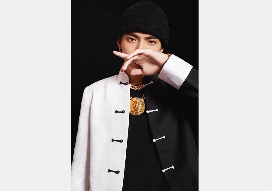 Singer-songwriter Kris Wu. (Photo provided to China Daily)