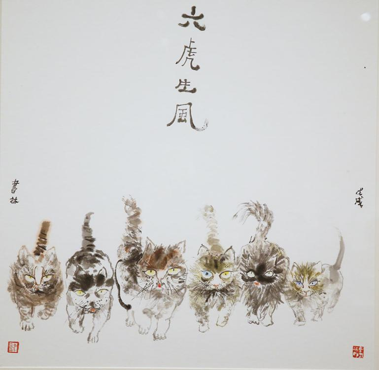 Ma Shulin\'s solo exhibition is ongoing at the National Art Museum of China in Beijing. (Photo/China Daily)  Being a senior administrator at of one\'s China\'s top museums for years didn\'t prevent Ma Shulin from devoting much time to his other passion, painting.  The retired deputy director of the National Art Museum of China in Beijing has been exploring ink and color works using the traditional Chinese medium of xuan paper since the early 1980s, and his paintings have received awards at various national exhibitions on many occasions.  An exhibition currently running at the National Museum of China through Aug 12 provides an overview of Ma\'s creative career by showing around 160 of his paintings as a celebration of his achievements in the two main styles of classic Chinese painting: gongbi (meticulous brush strokes) and xieyi (sketching thoughts).  Ma paints a wide range of subjects, from the more traditional flowers, birds and landscapes, to his better-known portraits of real-life figures and mythical characters.  His figure paintings shows his experiments in reinterpreting some of the mythical household names in China, such as Guan Yu as an upright, royal general living in the late second century to the early third century, to Sun Wukong, the Monkey King, from Journey to the West.