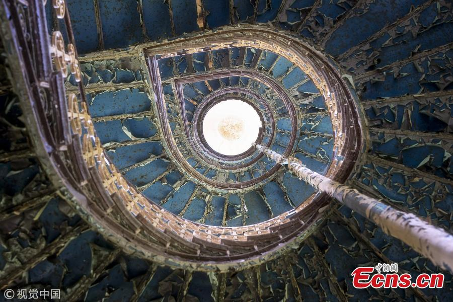 A Polish spiral staircase (Photo/VCG)