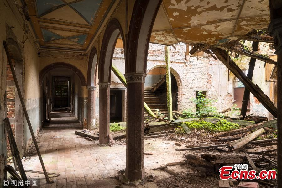 A dilapidated German home (Photo/VCG)
