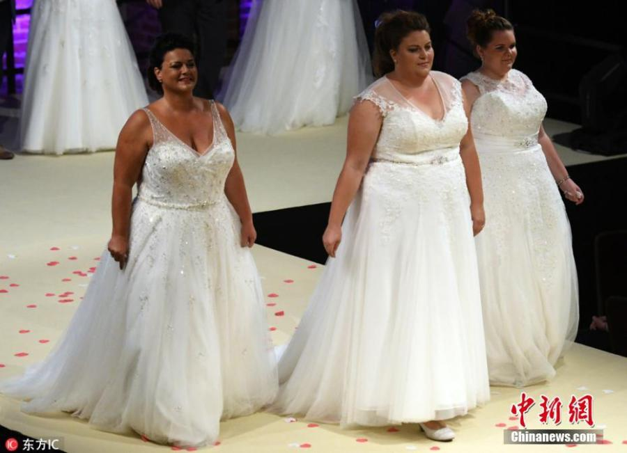 A beauty contest for plus-size women held in M?nchengladbach in North Rhine-Westphalia, Germany, Sept. 1, 2018. (Photo/Agencies)
