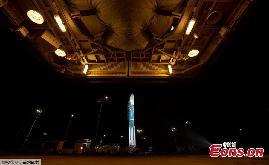The United Launch Alliance (ULA) Delta II rocket with the NASA Ice, Cloud and land Elevation Satellite-2 (ICESat-2) onboard is seen shortly after the mobile service tower at SLC-2 was rolled back, Sept. 15, 2018, at Vandenberg Air Force Base, Calif. The ICESat-2 mission will measure the changing height of Earth\'s ice. ICESat-2 is capable of measuring changes in ice thickness, forest growth and cloud height down to 0.02 inches (0.4 millimeters) every year — the thickness of a No. 2 pencil, according to NASA. (Photo/Agencies)