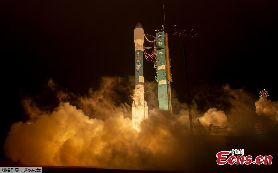This photo provided by NASA shows a Delta 2 rocket carrying ICESat-2 lifting off from Vandenberg Air Force Base, Calif., Sept. 15, 2018. NASA Earth Science Division director Michael Freilich says that the mission in particular will advance knowledge of how the ice sheets of Greenland and Antarctica contribute to sea level rise. ICESat-2 is capable of measuring changes in ice thickness, forest growth and cloud height down to 0.02 inches (0.4 millimeters) every year — the thickness of a No. 2 pencil, according to NASA. (Photo/Agencies)