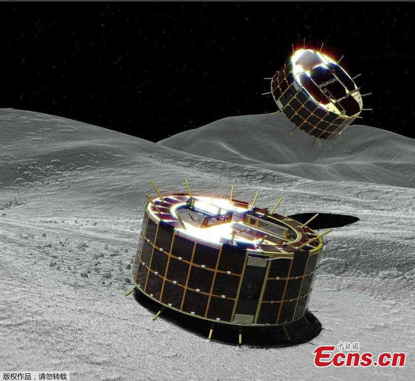 One of Japan's most ambitious space missions just reached an important milestone. The Hayabusa2 probe has successfully deployed a pair of tiny robots destined to explore the surface of the asteroid Ryugu. These robots are just the first of many instruments Hayabusa2 will drop off on the surface, but the ultimate goal of the mission is to return samples of Ryugu to Earth. (Photo/Agencies)