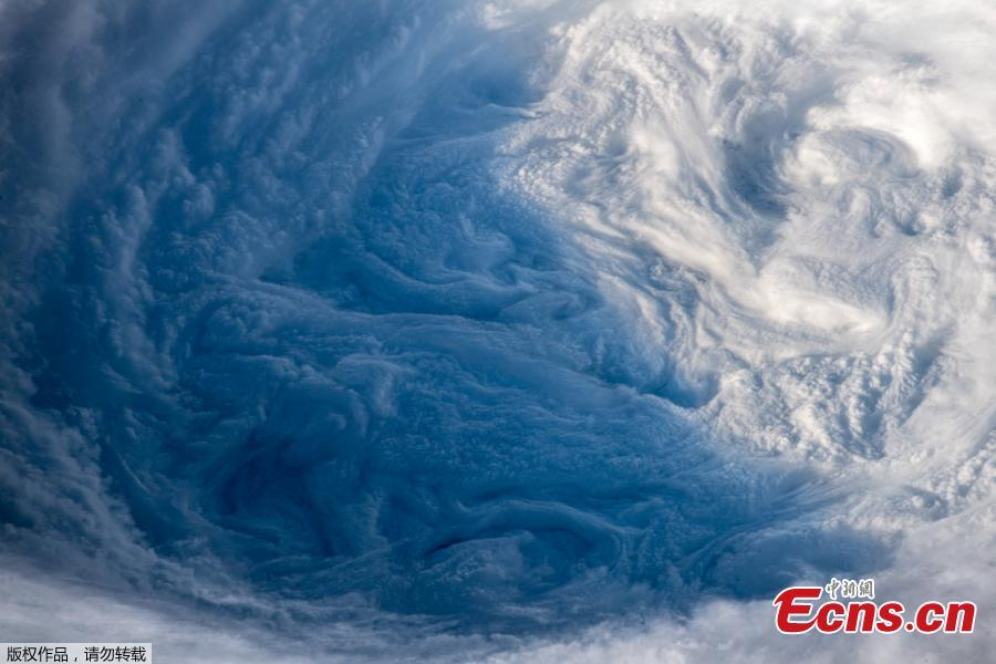 Stunning images of Typhoon Trami, projected to make landfall in mainland Japan, have been captured by an astronaut on the International Space Station (ISS). By Wednesday, the storm had weakened and it is no longer considered a \