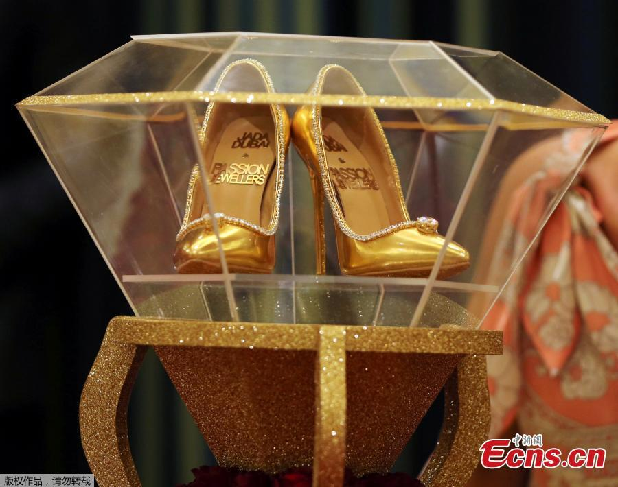 Worlds Most Expensive Shoes 17 Million On Display In Dubai