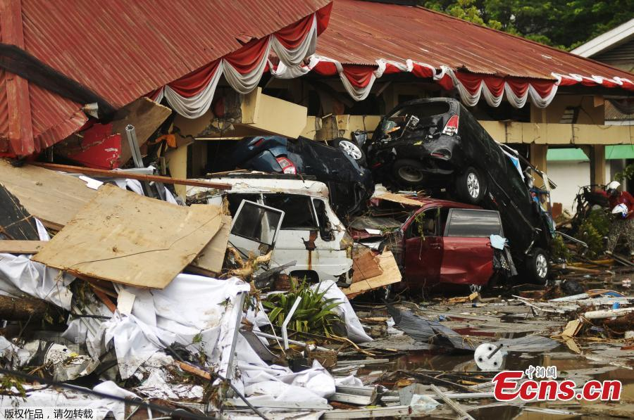 Damage from an earthquake and tsunami can be seen in Palu, Central Sulawesi, Indonesia September 29, 2018  in this photo taken by Antara Foto.  (Photo/Agencies)