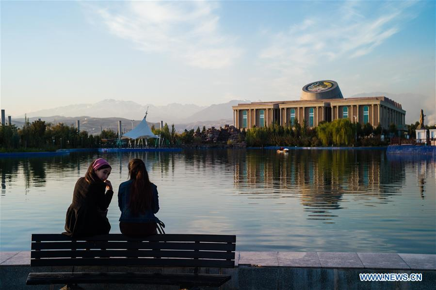 Photo taken on Oct. 11, 2018 shows the National Museum in Dushanbe, Tajikistan. (Xinhua/Wu Zhuang)