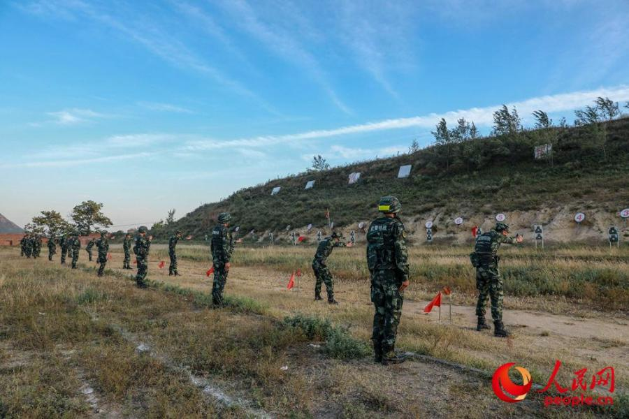 A 40-day long sniper training was recently held by a unit of Chinese armed police force in central China\'s Henan to hone the special operation force known as the Ghost Busters. (Photo/people.cn)