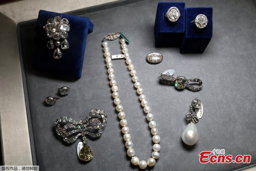 Items that belonged to Marie Antoinette, that will be included in the \