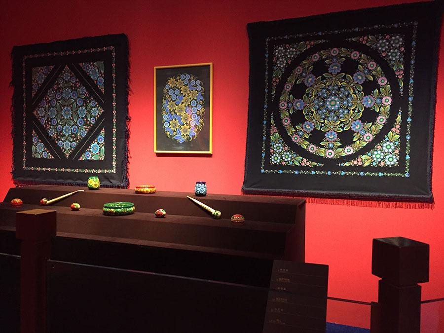 Situated at a geological position that connects the East and West, Ukraine\'s history has left its people a cultural legacy of richness and diversity which inspires artists even today. (Photo provided to China Daily)