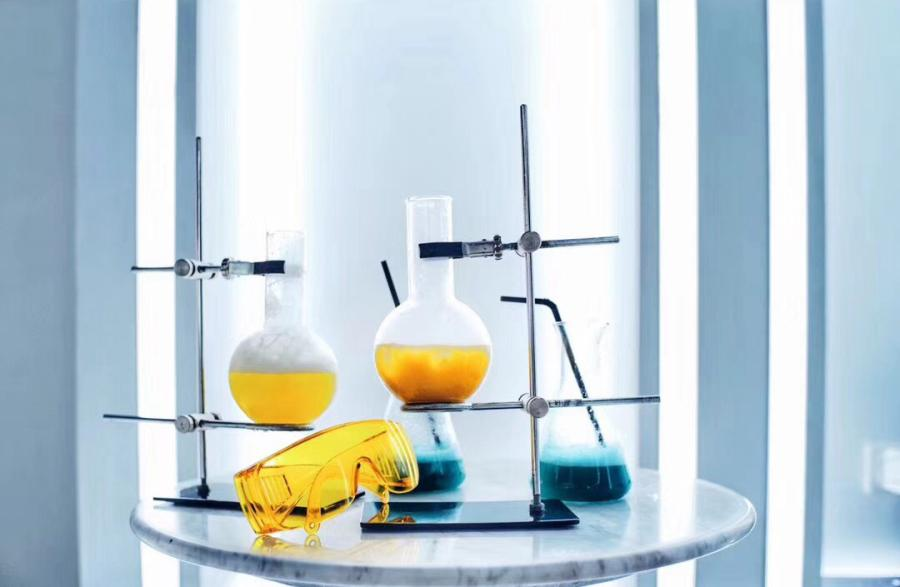 Blank Lab cocktails (Photo/CGTN)