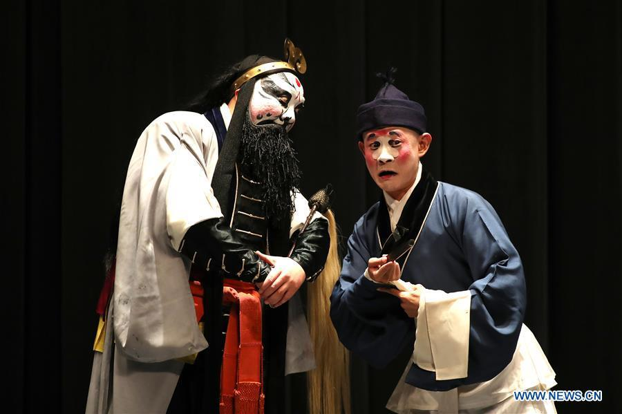 Troupers from China\'s Shanghai Kunqu Opera Troupe perform Kunqu Opera \