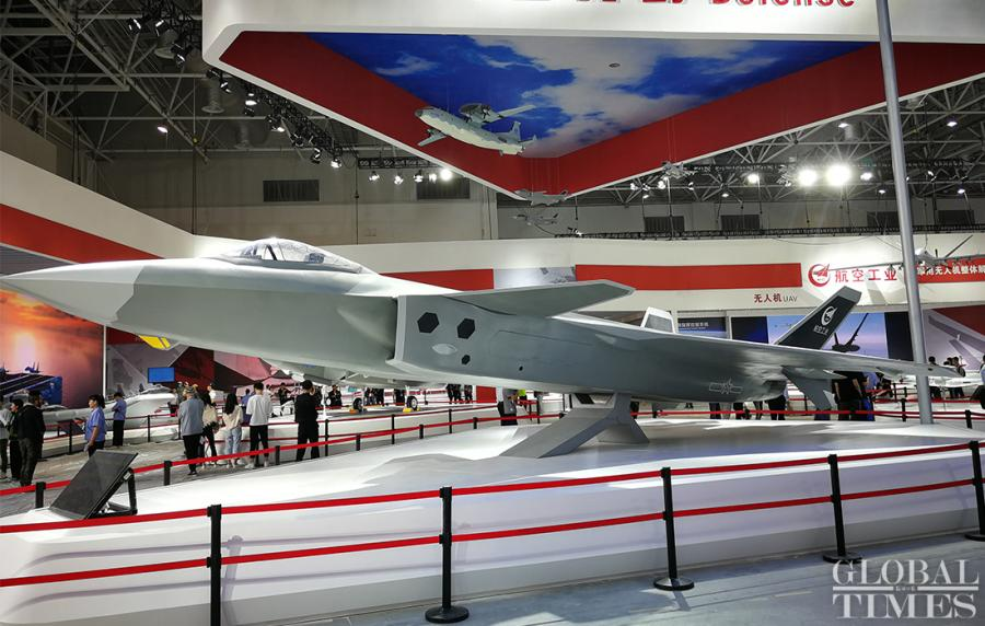 Air Show China 2018 is set for takeoff in Zhuhai, South China\'s Guangdong Province on November 6, featuring demonstrations of the latest fighter jets and weaponry over the six-day event. (Photo: Yang Sheng/GT)