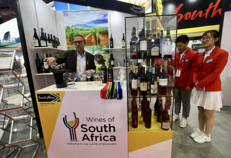 South Africa  South Africa has been China\'s largest trading partner in Africa for eight consecutive years, and China has been South Africa\'s largest trading partner for nine years. (Photo/China Daily)  The country is rich in mineral resources and is ranked among the top five in the world.  Mining, manufacturing and agriculture are the three pillars of the country\'s economy. Apart from diamonds and platinum, South Africa\'s fruits, wines and wool are world-famous thanks to its unique geographical location and climate.  This year marks the 20th anniversary of the establishment of diplomatic relations between China and South Africa.  The bilateral trade volume between the two nations reached $39.17 billion in 2017, an increase of 11.7 percent year on year, setting a record high.