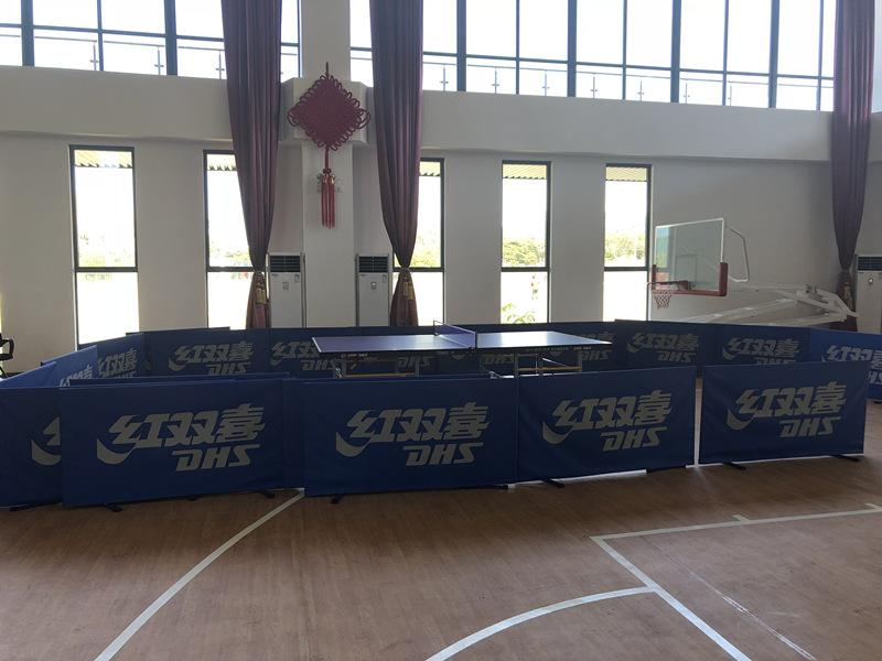 Photo shows a ping-pong table in the school\'s recreation room. (Photo/People\'s Daily Online)