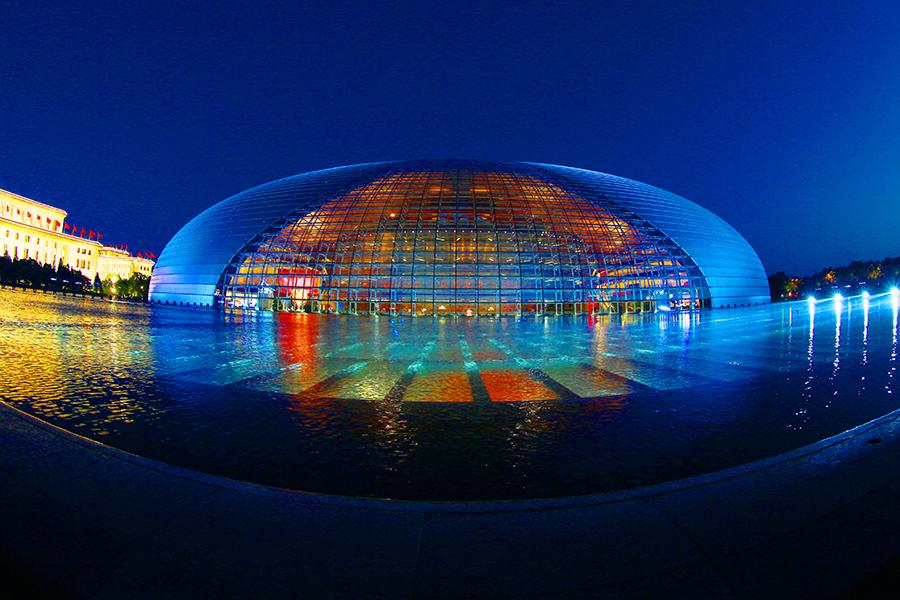 National Centre for the Performing Arts. (PHOTO BY CHEN XIAOGEN/FOR CHINA DAILY)