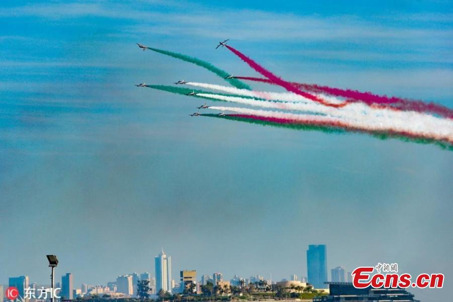 Italian Air Force aerobatic team \