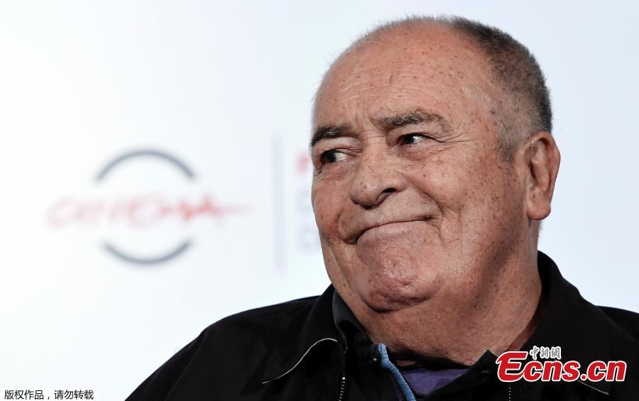 In this file photo taken on October 15, 2016 Italian director Bernardo Bertolucci attends the 11th Rome Film Festival. Italian film director Bernardo Bertolucci, whose films include \