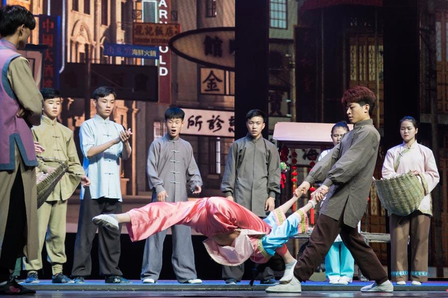 Fusing martial arts, dance and acrobatic techniques, the drama tells the life story of legendary Chinese martial arts master Huo Yuanjia (1868-1910). (Photo/Chinaculture.org)